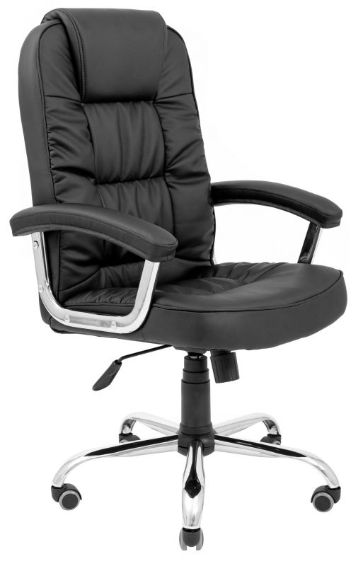 Кресло для руководителя Бонус Ю Хром М1 Richman